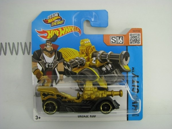 Hot Wheels 2015 Grease Rod HW City CFH26